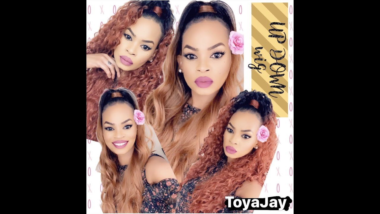 HOW TO: Sensationnel Half Wig N Pony Wrap/Wig