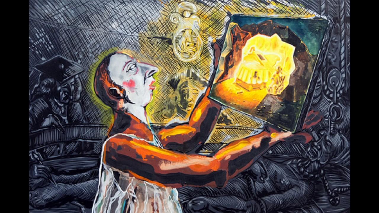 Jorg Immendorff 約爾格·伊門道夫 (1945-2007) Neo-Expressionism