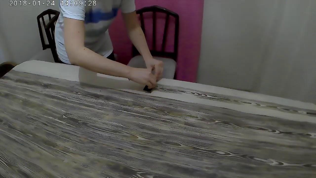 Eskitme Budak Dokulu Masa Boyama Eski Masanın Dönüşümü Youtube