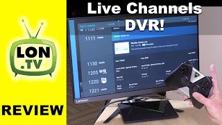 Free Android TV DVR with Live Channels & HDHomerun! Nvidia Shield , Nexus Player