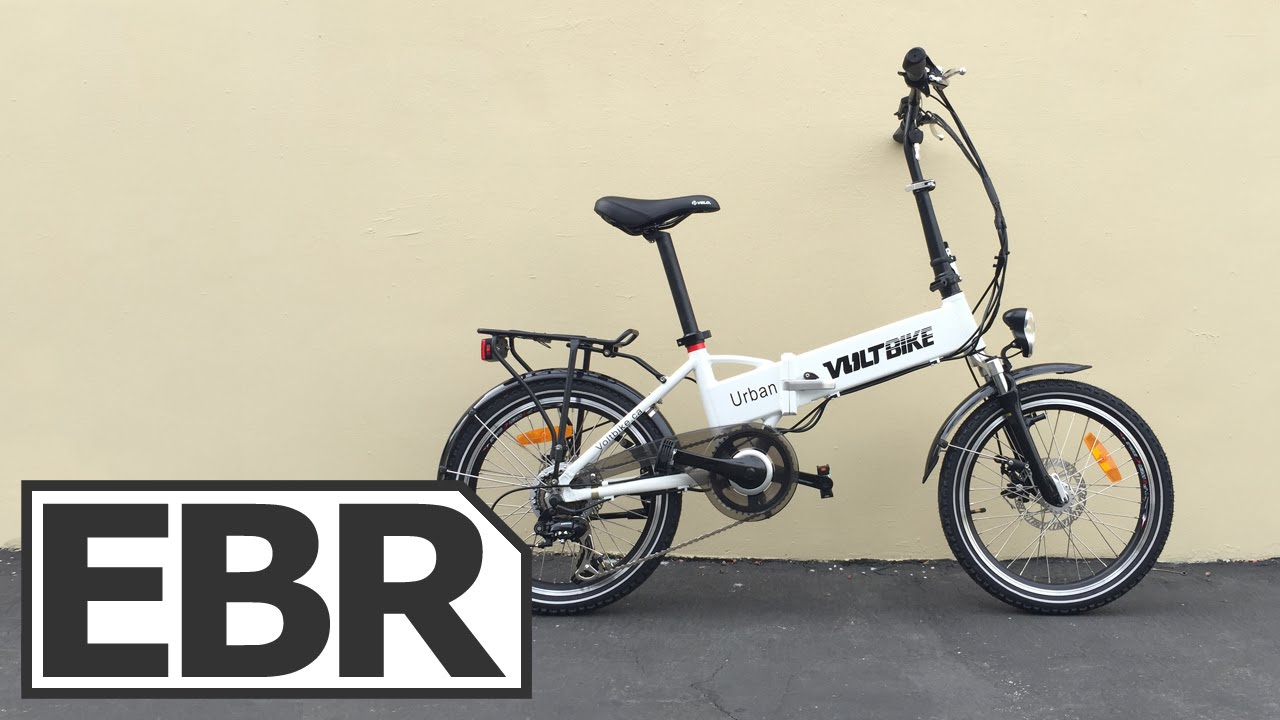 Voltbike Urban Video Review Inexpensive Folding Electric Bike Youtube