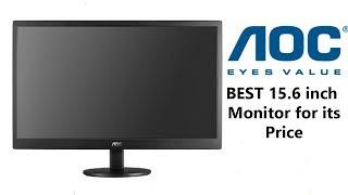AOC E1670SWU 15 6-inch LED Monitor