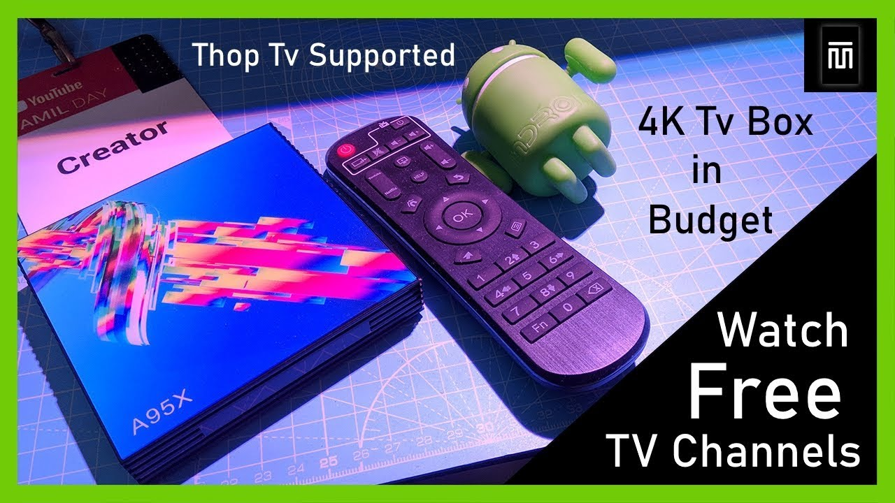 Cheap 4K Android Tv Box 🔥🔥 | A95X | Unboxing & Full Review in Tamil |  Master Technical