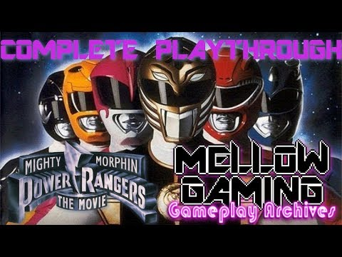 MG Gameplay Archives: Mighty Morphin&39; Power Rangers The Movie - Mega Drive - Complete Playthrough
