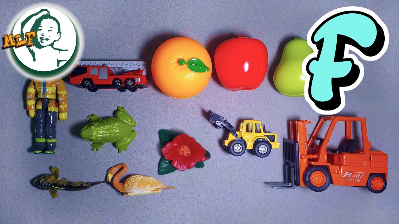 Toys That Start With F : Words that start with f learn alphabet common