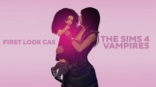 The Sims 4 Vampires | First Look At Create A Sim