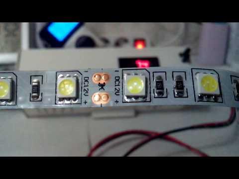 лента светодиодная 5050, 7.2 ватт/метр