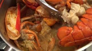 James' Kitchen, Seafood Stock
