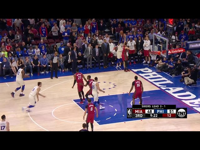 4ad13f9fe Sixers earn first playoff series victory since 2012 with surreal Game 5 win  over Miami Heat