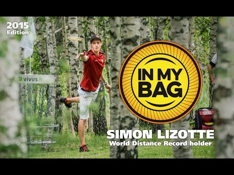 In My Bag with World Distance Record holder Simon Lizotte (2015)