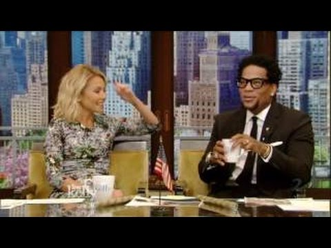 Live! With Kelly co-host D.L. Hughley 6/6/16 Eric Dane; Freddie Prinze Jr. (June 06, 2016)