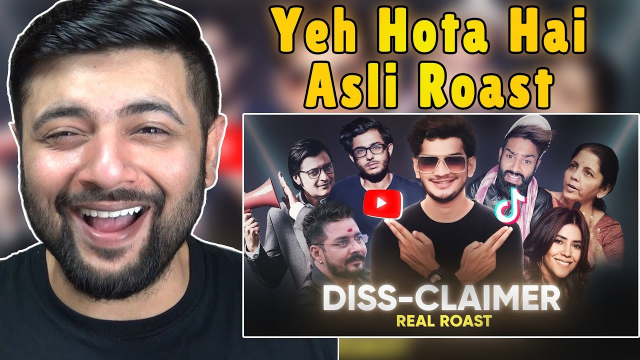 Pakistani Reacts to DISS-CLAIMER | REAL ROAST BY MUNAWAR FARUQUI