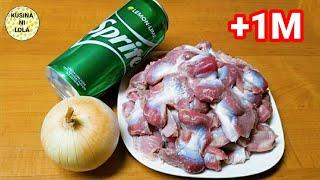 Gawin ito sa Chicken Gizzards! Siguradong Taob Ang isang Kalderong Kanin! / Gizzards w/ Tomato sauce