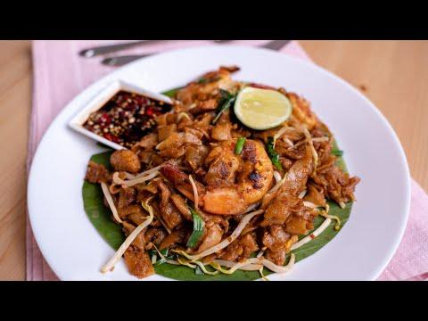 Kuey Teow Goreng Padu Dgn Cara Cili Potong Style Che Nom Youtube