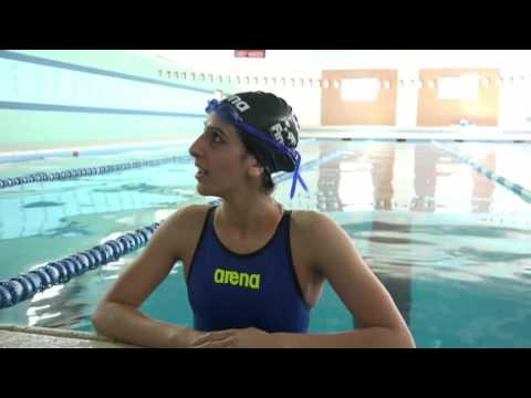 Meet the Palestinian swimmer taking part in the Rio Olympics
