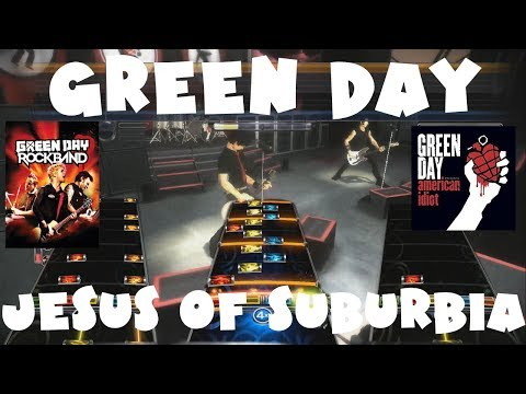 Green Day - Jesus Of Suburbia - Green Day Rock Band Expert Full Band