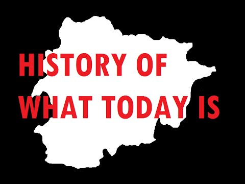 History of what today is: Andorra [#4]