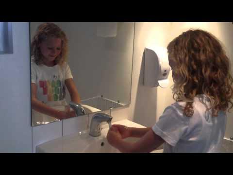 vaske hænder sang