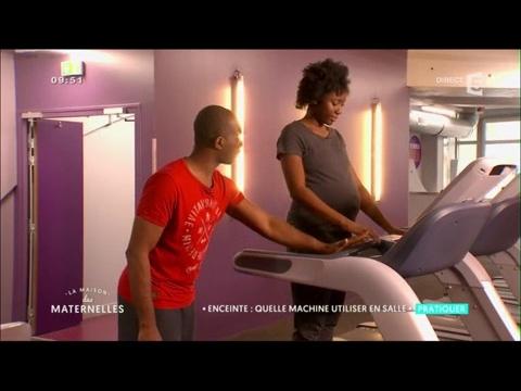 Enceinte : quelles machines utiliser en salle de sport ? - La Maison des Maternelles