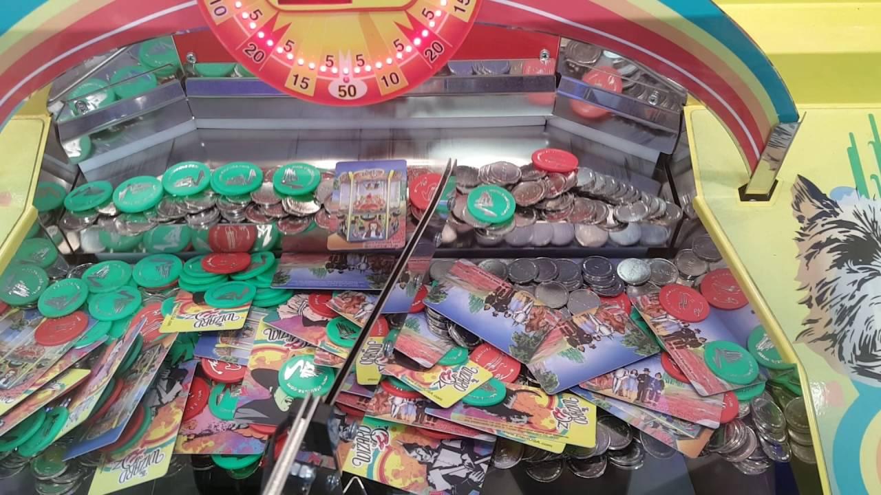 Wizard of Oz Coin Pusher - Toto Card - Rapid Fire - Putt Putt - Lynchburg,  VA