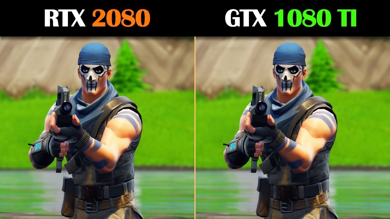 rtx 2060 vs gtx 1080 fortnite