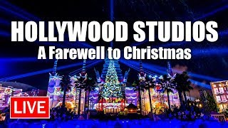 🔴 Live: A Farewell to Christmas From Hollywood Studios | Walt Disney World Live Stream