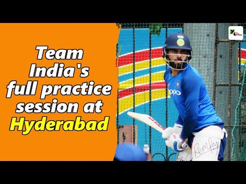 Watch: Indian Cricket Team's Full Practice Session Ahead Of 1st ODI   India Vs Australia