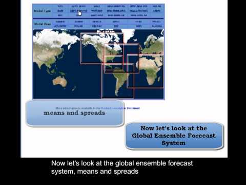 NCEP Model Analysis And Guidance Website: GFS And GEFS Forecast Guidance Products