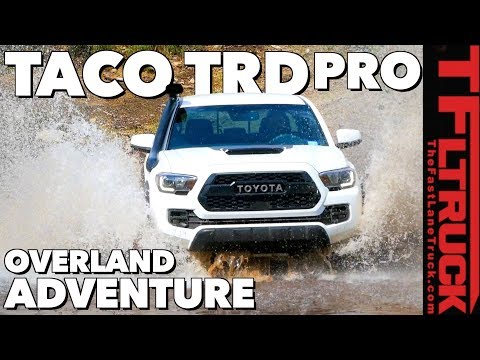 2019 Toyota Tacoma TRD Pro Overland Offroad Review (Part 1 of 3)