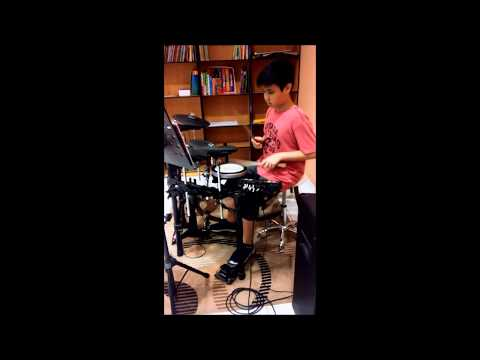 I will fly - Ten2five | Drum cover | Bryan Emilio (11tahun)