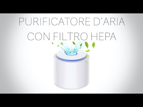 PURIFICATORE D'ARIA CON FILTRO HEPA ITA