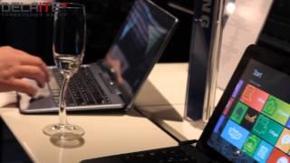 видео Samsung представила гибридный ноутбук Notebook 9 Pen