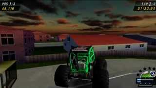Monster Jam: Urban Assault Gameplay Speedster (PSP)
