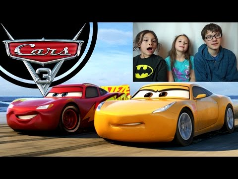 CARS 3 Official Trailer #5 Reaction!!!