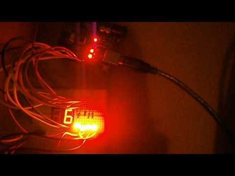 My Arduino Experiments: Hex Decoder