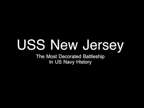 USS New Jersey Battleship Tour