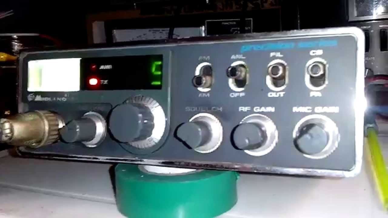 Schemi Elettrici Radio Cb : Cb radio midland alan echo swing ch youtube