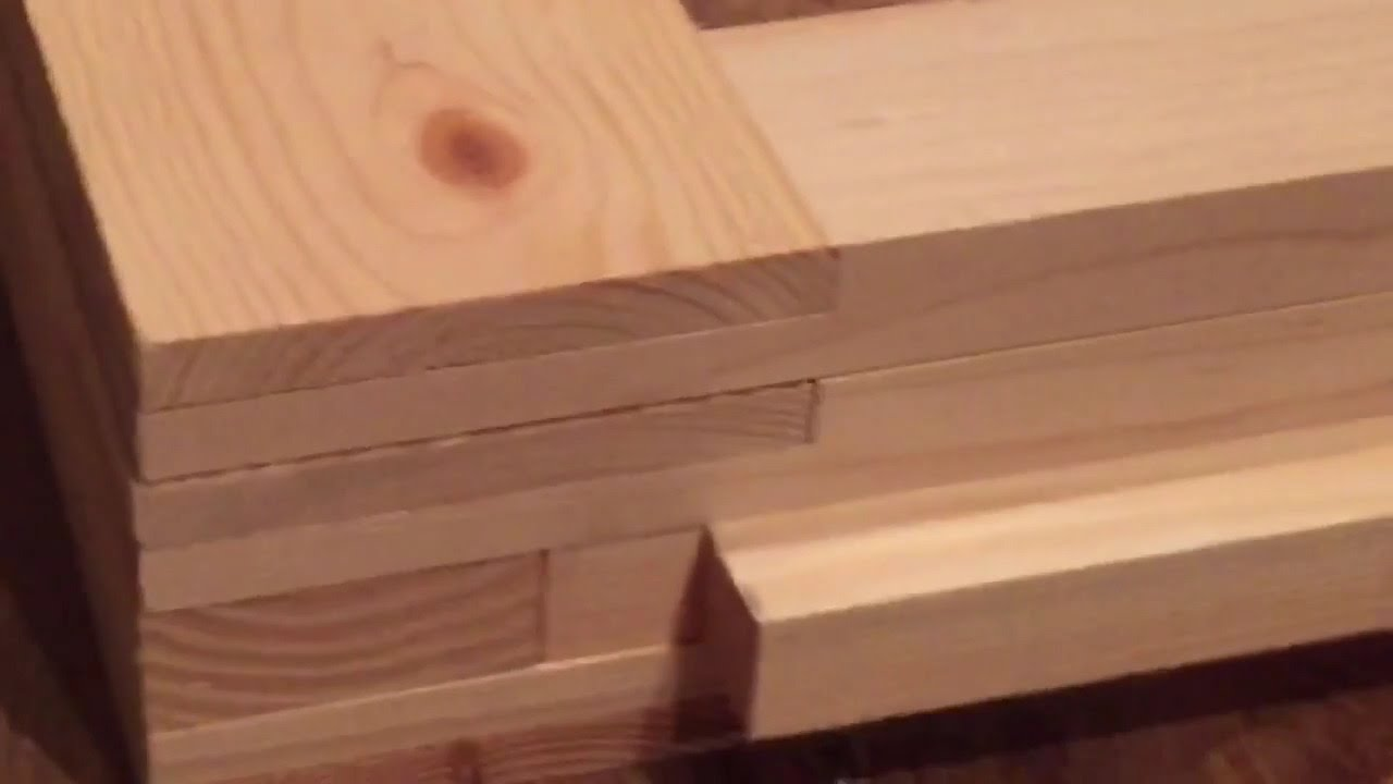 10 Workbench Build Half Lap Joints For The Legs Youtube