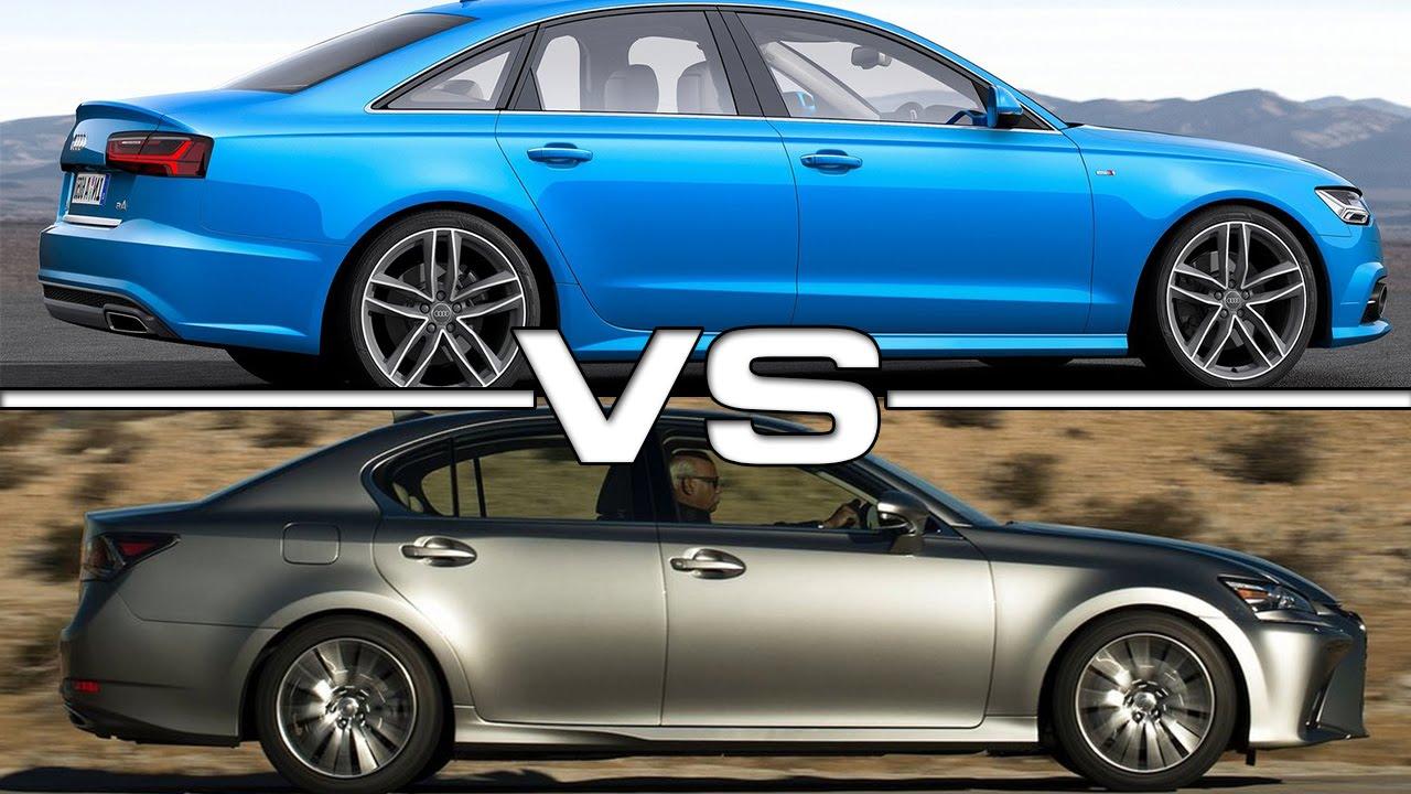 Lexus Vs Audi >> Audi A6 Vs Lexus Gs