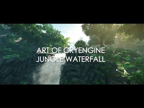 Art of Cryengine - Jungle Waterfall Animation Video