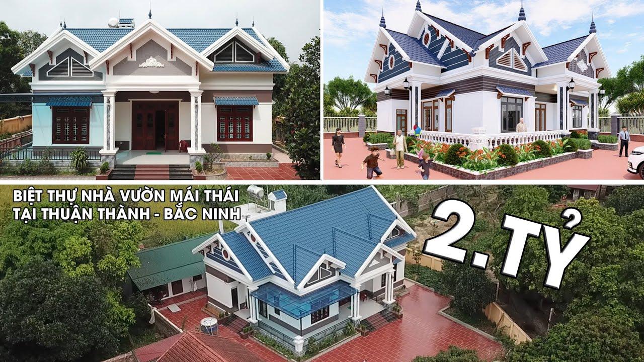 Siêu Phẩm Với Mẫu Nhà Cấp 4 Đẹp Có Giá 2 Tỷ Tại Thuận Thành Bắc Ninh