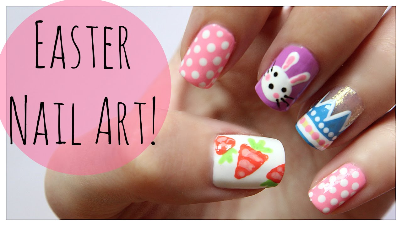 - Easter Nail Art!!! MissJenFABULOUS - YouTube