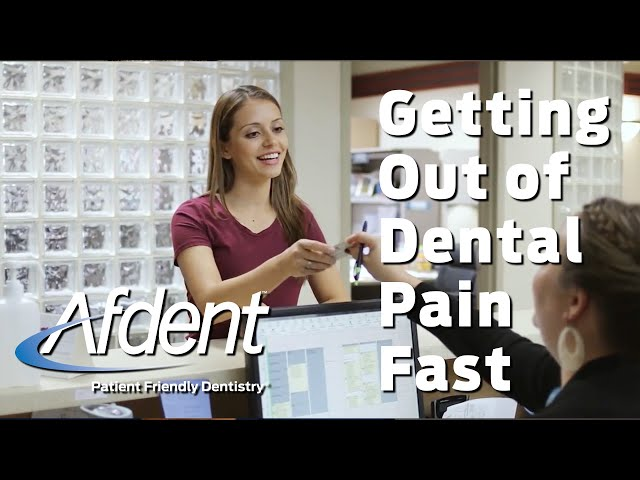 Getting You Out of Dental Pain Fast