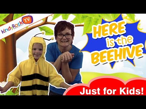 Here is the Beehive | Insect song for preschoolers