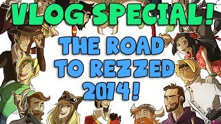 YOGSKIM VLOG Special! The Road to Rezzed 2014!