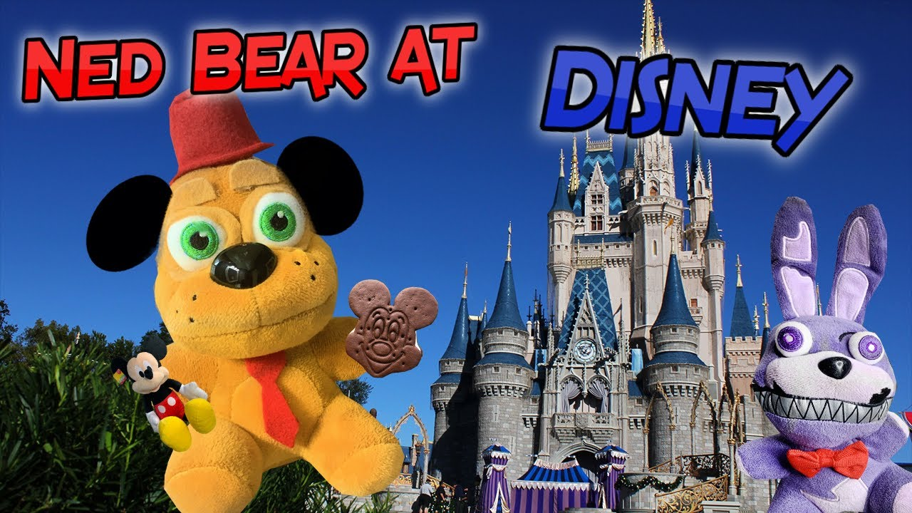 Gw Movie-  Ned Bear at Disney