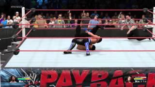 WWE 2K15 aj styles vs Roman reigns payback predictions