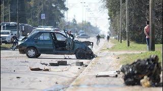 La Plata: despiste y choque fatal en 44 y 167