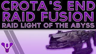 Destiny Light of the Abyss Raid Fusion Melt Machine. The Dark Below. Crota