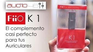 FIIO K1 USB DAC Amplificador. Mejor sonido al mejor precio.